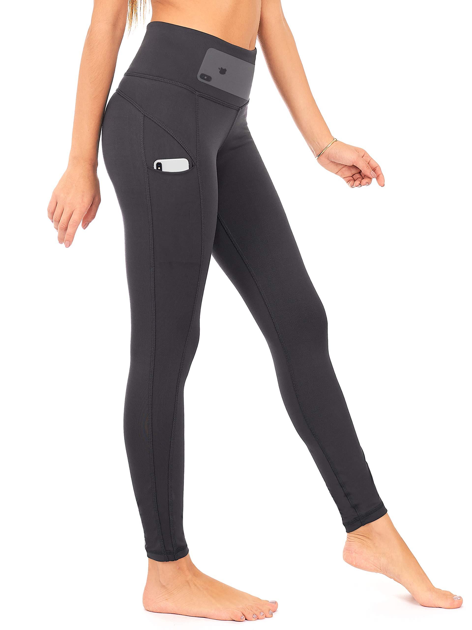 DEAR SPARKLE High Waist Workout Leggings with 3 Pockets for Women. Yoga Athletic Legging for Women (S1)