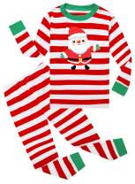 LYXIOF Little Boys Girls Christmas Pajamas Toddler Pjs Kids Cotton Sleepwear Sets