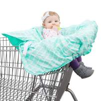 Shopping Cart & High Chair Cover: 2 in 1 Baby Seat Cushion Pad & Germ Protector