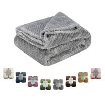 Msicyness Dog Blanket, Premium Fleece Fluffy Throw Blankets Soft and Warm Covers for Pets Dogs Cats(X Large Gray)