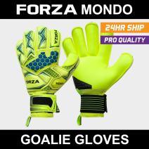 Forza Mondo Goalkeeper Gloves [5 Sizes] | Elite Gloves for Soccer Goalkeepers – Maximum Grip
