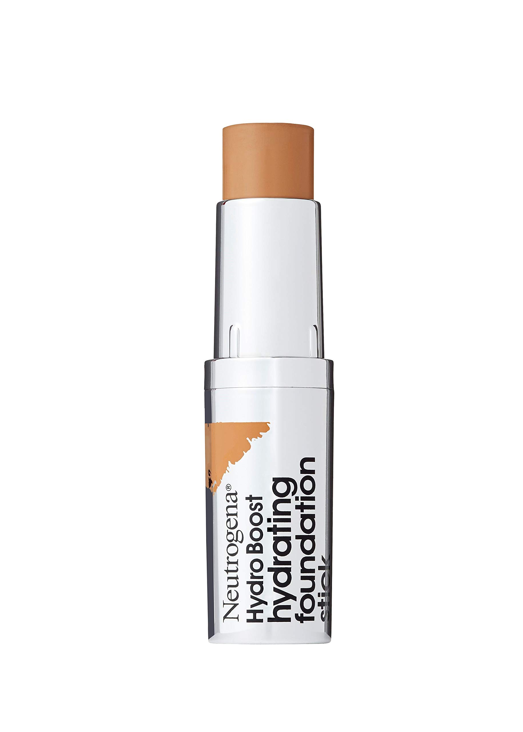 Neutrogena Hydro Boost Hydrating Foundation Stick with Hyaluronic Acid, Oil-Free & Non-Comedogenic Moisturizing Makeup for Smooth Coverage & Radiant-Looking Skin, Cocoa, 0.29 oz