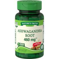 Ashwagandha Capsules | 460 mg | 90 Count | Non-GMO & Gluten Free Supplement | by Nature's Truth