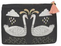 Danica Studio Danica Studio Linen Cosmetic Bag, Small, Wild Tale,