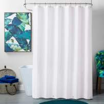 """TreeLen Shower Curtain Liner,Hotel Collection Eco-Friendly 10 Gauge PEVA 72""""x72"""" Waterproof/Water-Repellent Shower Curtain Liner for Bathroom -White"""