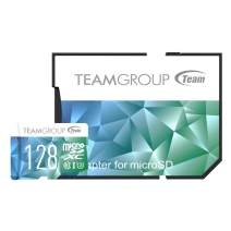 TEAMGROUP Color Card II 64GB 3-Pack MicroSD UHS-I U3 High Speed Flash Memory Card with Adapter for 4K UHD Camera Recording Shooting, Nintendo Handheld Console (TCIIUSXH64GU358)
