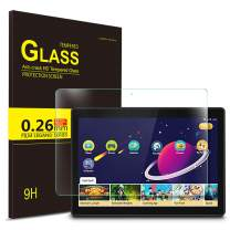 IVSO Screen Protector for Lenovo TAB M10, Scratch-Resistant No-Bubble 9H Hardness HD Clear Tempered Glass Screen Protector for Lenovo TAB M10 2018 Released Tablet