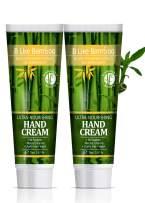 B Like Bamboo Ultra Nourishing 20% Shea Butter Hand Cream with Argan Oil   Natural Moisturizing Hand Lotion Dry Sensitive Skin   Ultra Rich   Nourishing   Repairing   Soothing  Value Pack 2 x 2.5 oz