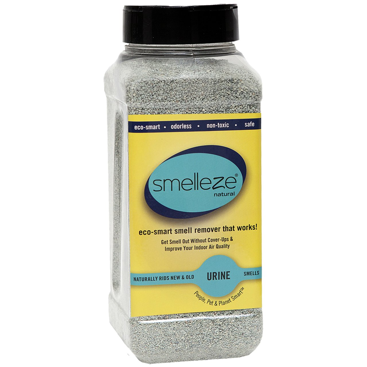 SMELLEZE Natural Urine Smell Eliminator Deodorizer: 50 lb. Powder Get Smell Out