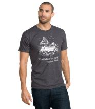 Headline Shirts - Funny Graphic Quote Shirts - Screen Printed Crewneck T-Shirt for Men