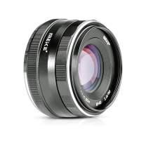Meike 50mm f2.0 Large Aperture APS-C Manual Focus Lens for Sony E Mount Mirrorless Camera NEX 3 3N 5 NEX 5T NEX 5R NEX 6 7 A6400 A5000 A5100 A6000 A6100 A6300 A6500 A6600