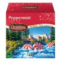 Celestial Seasonings Herbal Tea, Peppermint, 40 Count (Pack of 6)