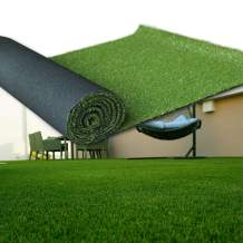 LITA Artificial Grass 2' x 5' (10 Square Feet) Realistic Fake Grass Deluxe Turf Synthetic Turf Thick Lawn Pet Turf -Perfect for Indoor/Outdoor Landscape (20mm high Pile) Customized