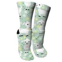 ULQUIEOR Women Cute Panda Cotton Novelty Dress Crew Socks