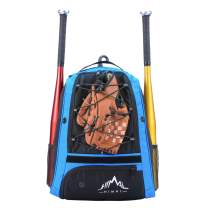 Himal Outdoors Baseball Bag - Baseball Backpack for Youth and Adults, Softball Equipment Bags with Shoe Compartment and Fence Hook Hold Bat,Helmet,Glove and Shoes.