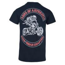 Sons of Arthritis Piss and Moan Chapter Biker T-Shirt
