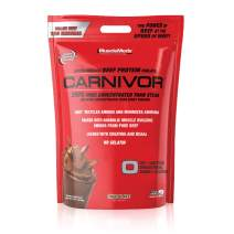 MuscleMeds Carnivor Beef Protein Isolate Powder, Chocolate, 8 Pound