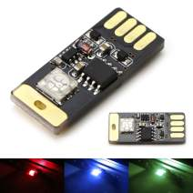 iJDMTOY (1 Touch Control RGB Multi-Color USB Plug-in Miniature/Nano LED Car Interior Ambient Accent Lighting Kit