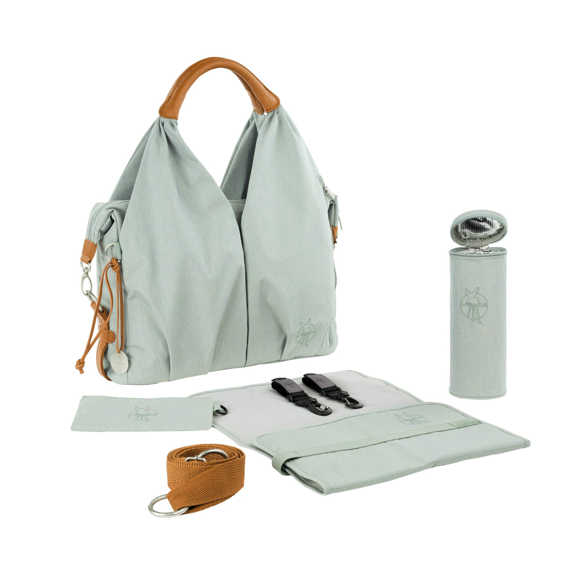 Lassig Green Label Neckline Diaper Bag Sky