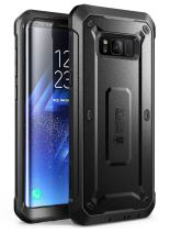SUPCASE Unicorn Beetle Pro Series Case Designed for Galaxy S8, Full-Body Rugged Holster Case Without Screen Protector for Samsung Galaxy S8 (2017 Release) (Black)