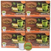 Door County Coffee, Single-Serve Cups for Keurig Brewers, Highlander Grogg Decaf, 72 Count