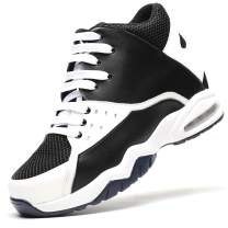 CHAMARIPA Men's Invisible Height Increasing Elevator Shoes Basketball Sport Shoes 3.74 Inches Taller 329B02