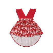 Christmas Sister Matching Dress Newborn Kid Baby Girls Tulle Lace Romper Party Dress Playsuit