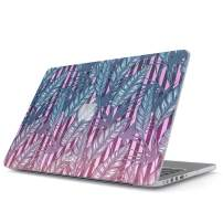 Glitbit Hard Case Cover Compatible with MacBook Pro 13 Inch Case Release 2016-2018, Model: A1989 / A1706 / A1708 with or Without Touch Bar Tropical Leaf Floral Leaves Palm Tree Jungle Flowers Summer