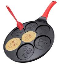 Pancake Griddle Ice-cream Maker Smile Waffle Irons Maker Pan Pancake Griddle Pan