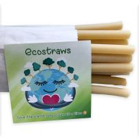 Ecostraws - Straws From Pasta - Eco Friendly - Thick Size