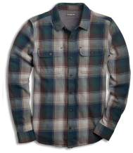 Toad&Co Indigo Flannel LS Shirt - Men's Huckleberry X-Large