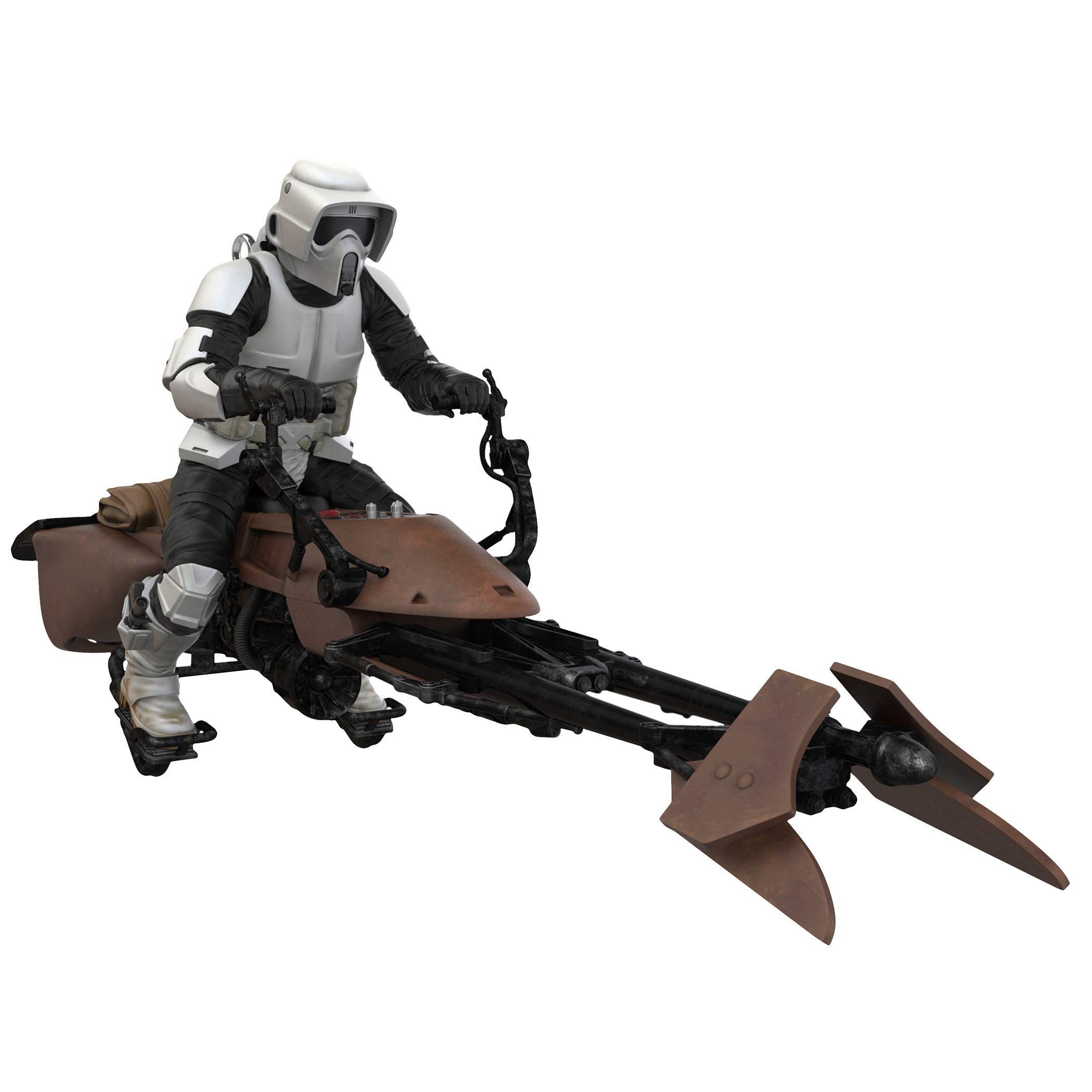 Hallmark Keepsake Christmas Ornament 2019 Year Dated Star Wars: Return of The Jedi A Wild Ride on Endor with Sound