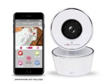 Project Nursery HD WiFi Video Baby Monitor System with Sound, Motion & Temperature Alerts & an App for iOS, Android and Any Smartphone or Tablet