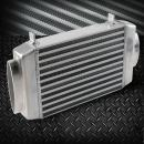 Aluminum Bolt-On Top Mount Supercharge Turbo Intercooler For MINI COOPER S R53 2002 2003 2004 2005 2006 Silver
