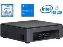 Intel NUC NUC7i3DNKE Mini PC/HTPC, Intel Dual-Core i3-7100U 2.4GHz, 8GB DDR4, 512GB NVMe SSD, 4k Support, Dual Monitor Capable, WiFi, Bluetooth, Windows 10 Professional 64Bit