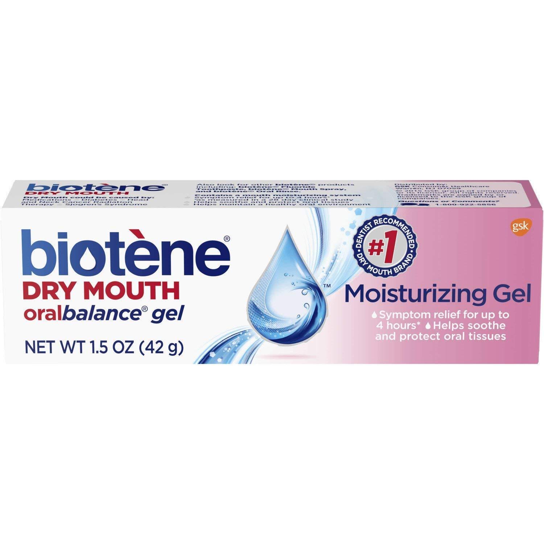 Biotene Oralbalance Dry Mouth Moisturizer Gel 1.50 oz (Pack of 12)