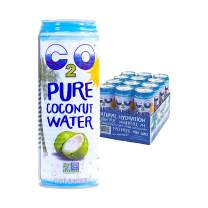C2O Pure Coconut Water, 17.5 Fl Oz (Pack of 12)