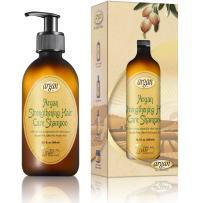 Vitamins Hair Strengthening Argan Shampoo - Moisturizing Repair Treatment to Strengthen Dry Hair and Scalp, Reduce Hair Loss and Encourage Hair Growth