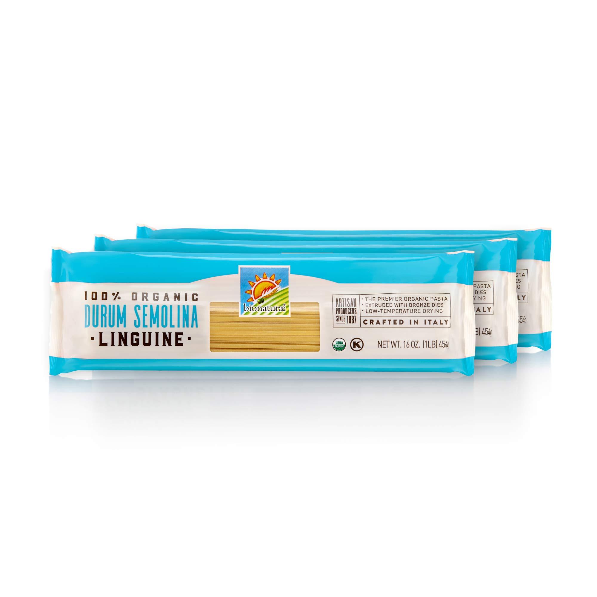 Bionaturae Organic Durum Semolina Linguine, 6 Count