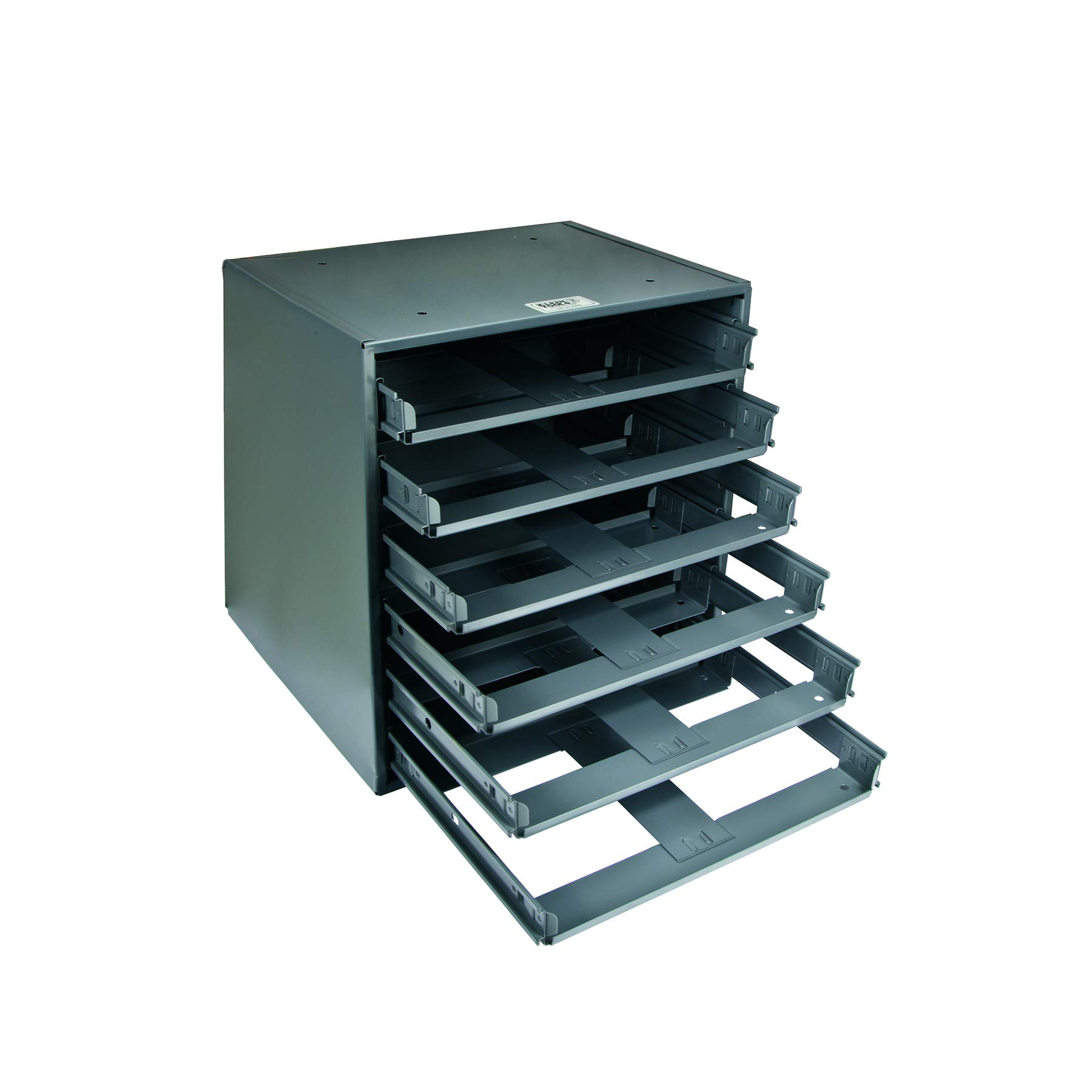 Klein Tools 54476 Slide Rack, 6-Box, 16-3/8-Inch Height