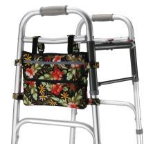 GUOER Walker Bag Suitable for Multiple Walking Aids Rollator Bag Multi-Size Multiple Colors (7.8Wx9.8L in,Color9807)