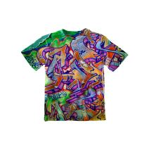 Yizzam NewWorldCo- Graffiti Green Street -Tagless- Kids Shirt