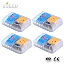 BSEED US Plug Home Appliance Surge Protector Power Suppressor Voltage Brownout Outlet 4 PACK