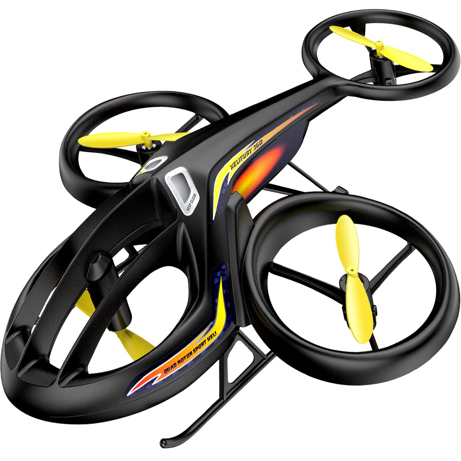 RC Helicopter, SYMA 2019 Latest Remote Control Drone with Gyro and LED Light 4HZ Channel Plastic Mini Series Helicopter for Kids & Adult Indoor Outdoor Micro Toy Gift for Boys Girls[Newest Model]
