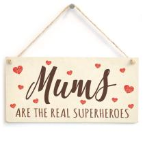 """Meijiafei Mums are The Real Superheroes - Nice Little Gift for Mothers Day 10""""x5"""""""