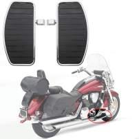 Areyourshop Motorcycle Front/Rear Footboards Floorboard for Honda Shadow Aero 750 VT750