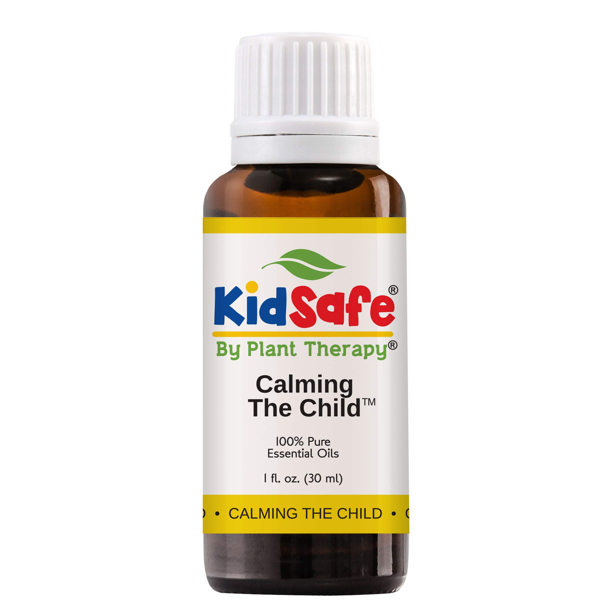 Plant Therapy Essential Oils Calming the Child Synergy - Relaxing and Soothing Blend 100% Pure, KidSafe, Undiluted, Natural Aromatherapy, Therapeutic Grade 30 mL (1oz)