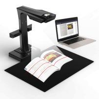 CZUR ET16 Plus Advanced Book&Document Scanner, 2nd Gen Auto-Flatten & Deskew Tech, 16MP Sony Camera, Capture A3, 186 languages OCR, Convert to PDF/Searchable PDF/Word/TIFF/Excel, Run On Windows&Mac OS