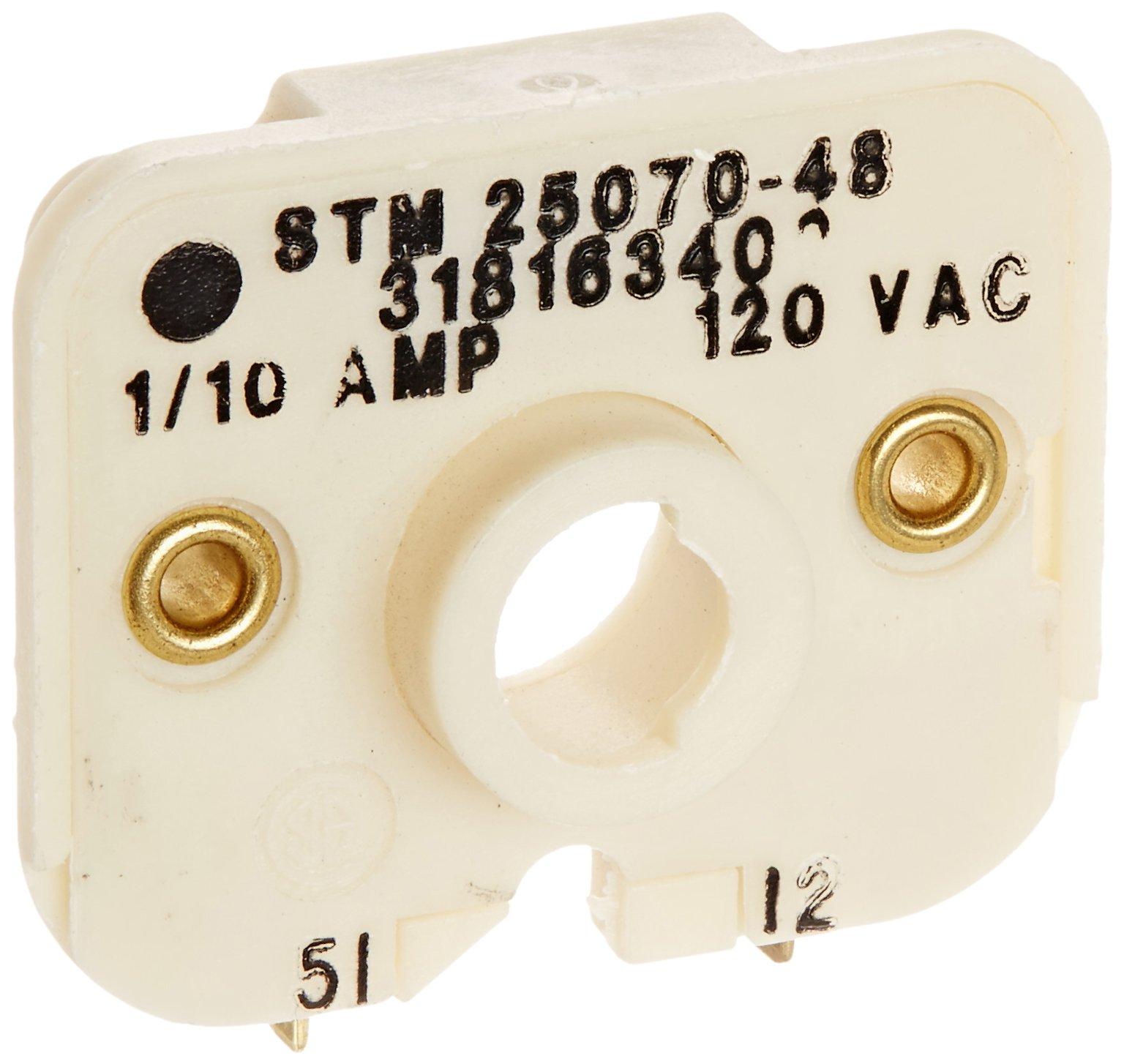 Frigidaire Series 318163400 Switch