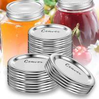(72-Count) Regular Mouth Mason Jar Lids for Ball,Canning Lids BPA-Free